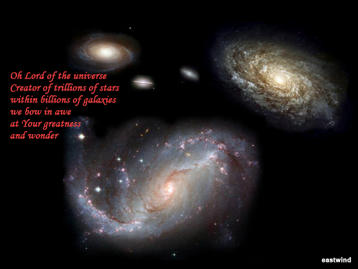 Courtesy of Hubble telescope of NASA